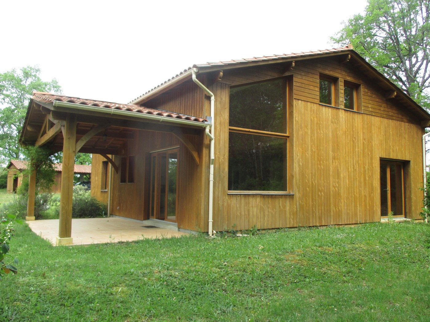 maison cologique en bois interesting constructor de casas